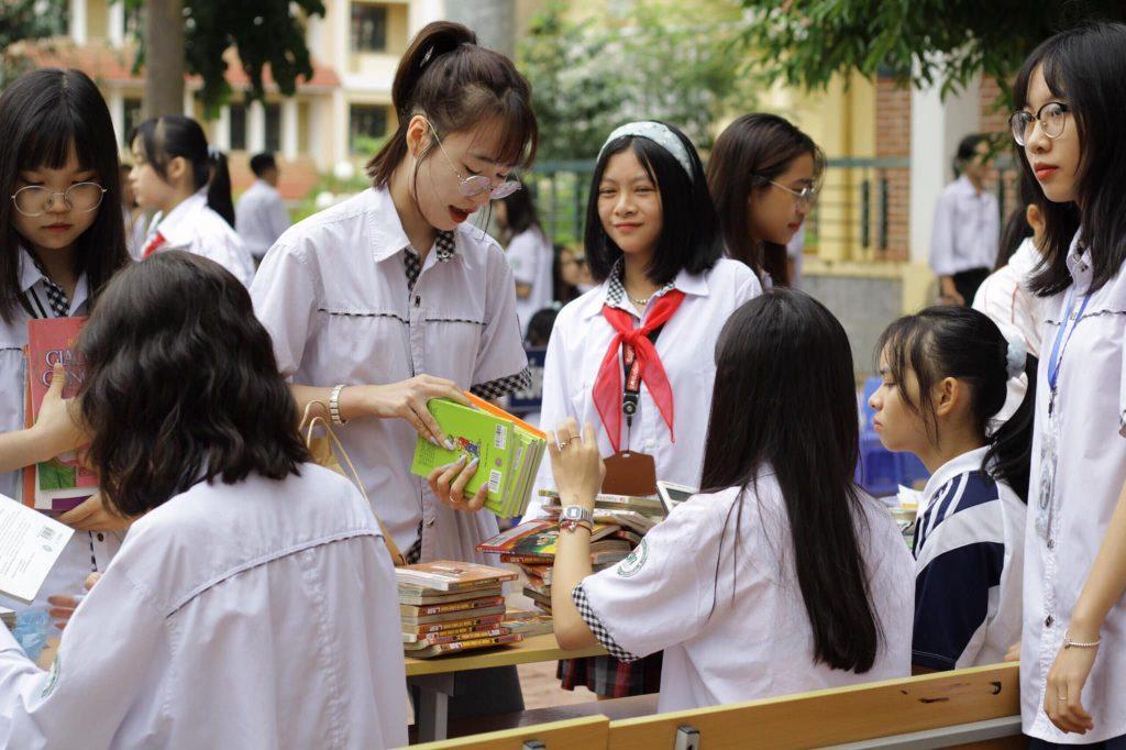 Sự kiện Ngày hội đổi sách của CLB Sách và Hành động