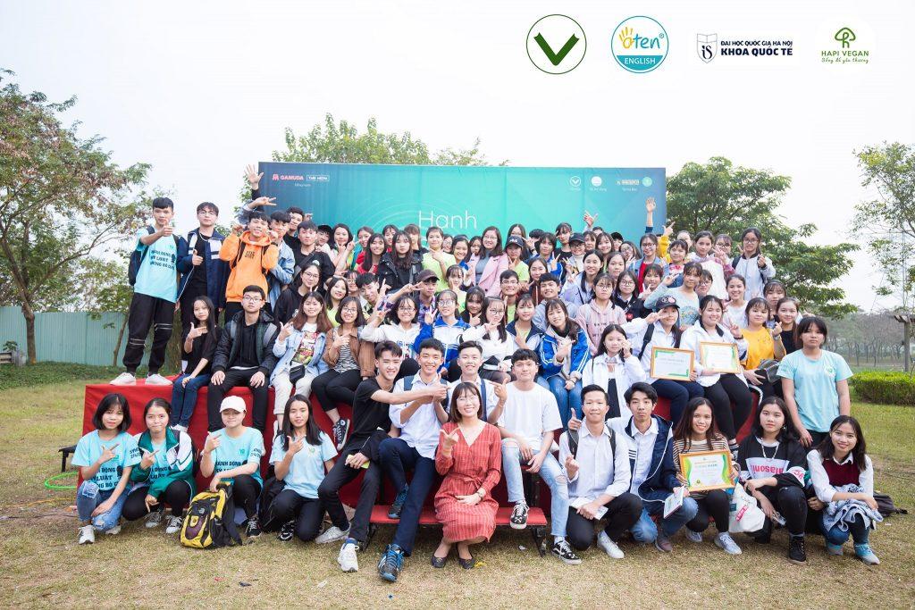 Các thành viên CLB Sách và Hành động cụm Bắc Ninh