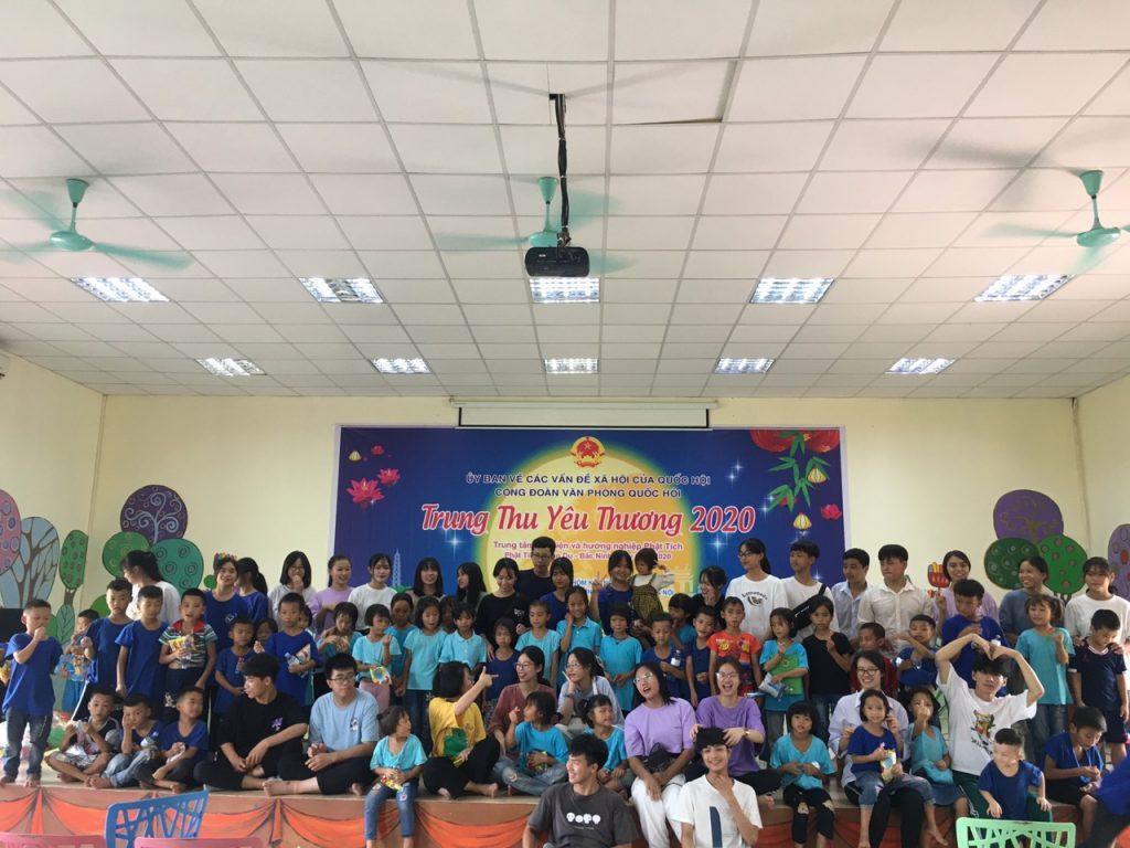 Sự kiện Trung thu yêu thương 2020 của CLB Sách và Hành động